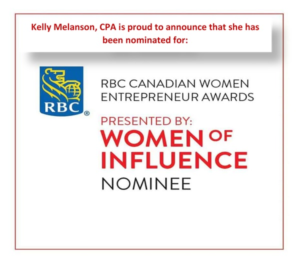 Kelly Melanson is Women of Influence Nominee